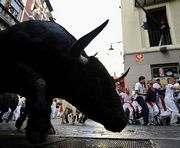 В Испании с представления сбежал бык: ранено 11 человек