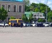 В Харькове перекрыли площадь Свободы
