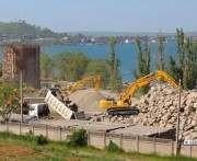 В Крыму начали строить мост через Керченский пролив: фото-факты