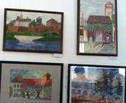 В польском консульстве открылась выставка картин харьковских школьников