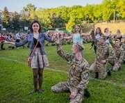 В Харькове полтысячи курсантов собираются установить рекорд