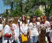 В Харькове прошел парад вышиванок: фото-факты
