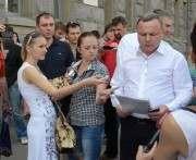Пикет возле Харьковского горсовета: что требовали (фото)