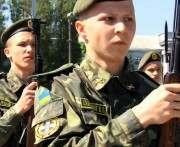 В Харькове прошел второй выпуск кадетов