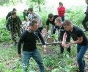 Харьковские студенты посоревновались в лесопарке
