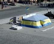 В Харькове полностью перекрыта площадь Свободы: фото-факты