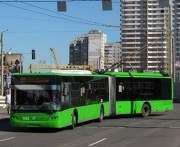 В Харькове по проспекту Победы будут ходить троллейбусы