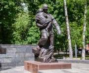 В Харькове реконструируют сквер Пожарных