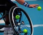 В Харькове проходит турнир по теннису на инвалидных колясках