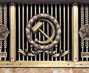 Харьковские силовики избавляются от коммунистической символики