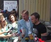 За одного из подозреваемых в убийстве Олеся Бузины внесли залог