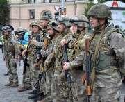 Харьковские милиционеры отправились в зону АТО