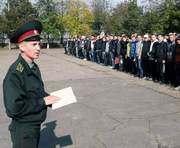 В Харькове полностью выполнили план призыва в армию