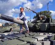 На площади Свободы в Харькове прошла выставка военной техники