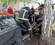 ДТП под Харьковом: пассажирку вытаскивали спасатели
