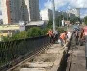 Что происходит на Алексеевском мосту в Харькове