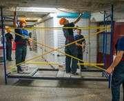 В харьковском метро идет ремонт, незаметный для глаза