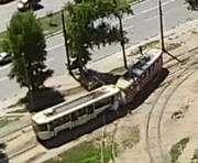 Трамвайное ДТП в Харькове: пострадавшие выписаны из больницы (видео столкновения)