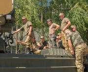 «Кожедубовцы» передают боевой опыт мобилизованным офицерам