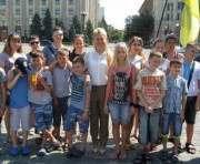 Дети бойцов АТО уехали в Румынию