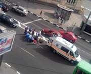 ДТП в Харькове: на проспекте Гагарина автомобиль сбил человека (фото)