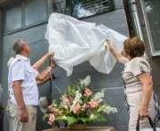 В Харькове установили мемориальную доску первому начальнику метрополитена
