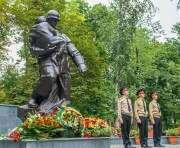 В Харькове открыли реконструированный сквер