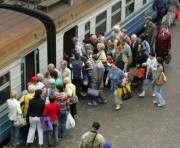 Отправление последней электрички из Харькова до границы назначено позднее