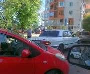 ДТП в Харькове: в центре города образовалась пробка (ФОТО)