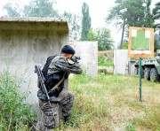 Курсанты Нацгвардии прошли спецназовскую практику