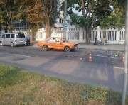 ДТП в Харькове: на бульваре Хмельницкого перевернулся автомобиль