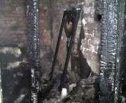 Крупный пожар на Новоселовке: жильцов спасали через окна