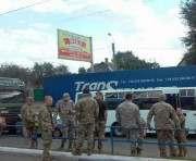ДТП под Харьковом: ВАЗ въехал в автобус с военными