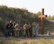 К годовщине Иловайского котла харьковчане изготовили памятник