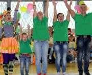 В Харькове выбирали самую спортивную семью