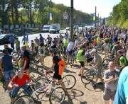 В Харькове прошел велопробег