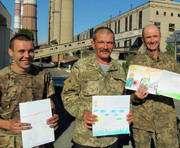 Что написали харьковские школьники воюющим бойцам