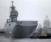 Египет обсуждает c Францией покупку «Мистралей»