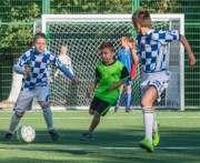 В Харькове открыли новый школьный стадион