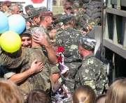 Харьковские налоговики вернулись из зоны АТО