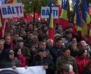 В столице Молдовы тысячи людей вышли на акцию протеста