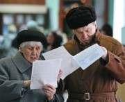 В Харькове пожилых избирателей подвозили на голосование