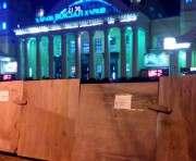 В Харькове закрыт выход из метро «Южный вокзал»
