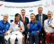 Харьковчанка стала серебряным призером Кубка мира по фехтованию на колясках