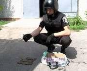 В центре Харькова нашли гранату