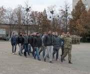 Первую партию срочников из Харькова отправили в армию