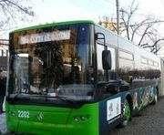 Два троллейбуса в Харькове изменят маршруты