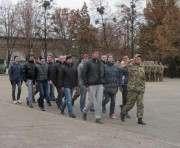 На Харьковщине призывников проводили на военную службу