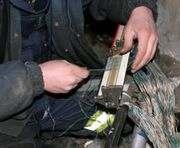 В Харькове поймали похитителей кабеля