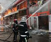 Пожар на ТЦ «Барабашово»: новые подробности